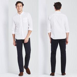 [AG] Navy Blue Protege Straight Leg Chino Pants